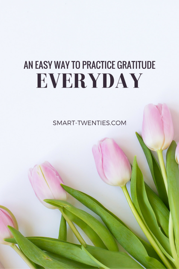 In this post I share the trick my boyfriend and I use to practice gratitude every single day and why you should start doing it too (and there's no journal required)