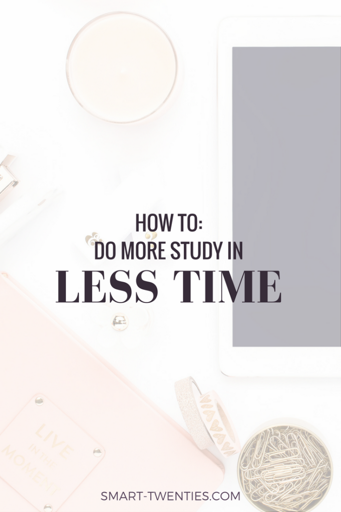 Study tips to help you ace any hard college course. These tips will help you study more in less time!