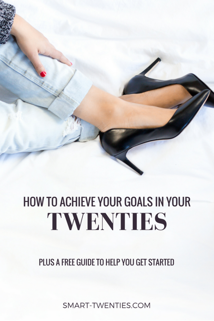 Can't stay motivated to achieve your goals in your twenties? Find out how to stick to a daily habit like exercise or healthy eating without motivation. Must-read life advice for twenty-somethings and millennials!