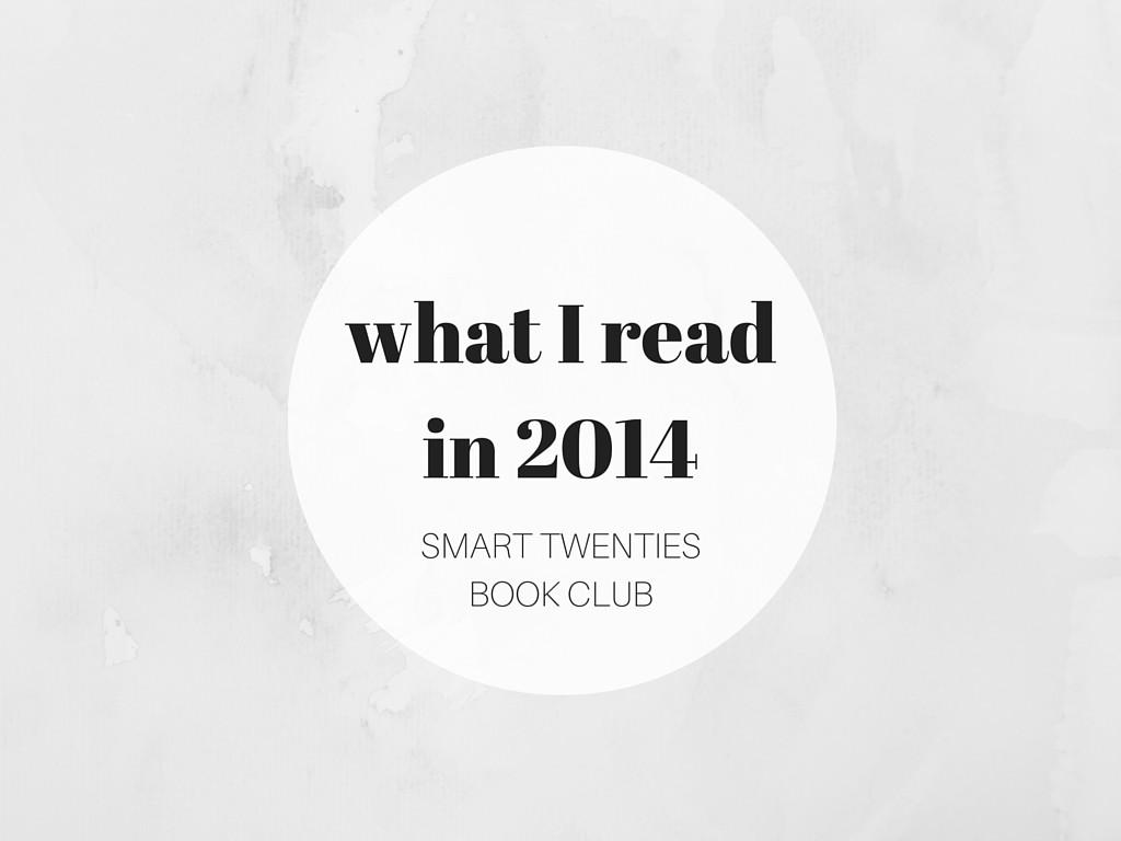 What I ReadIn 2014
