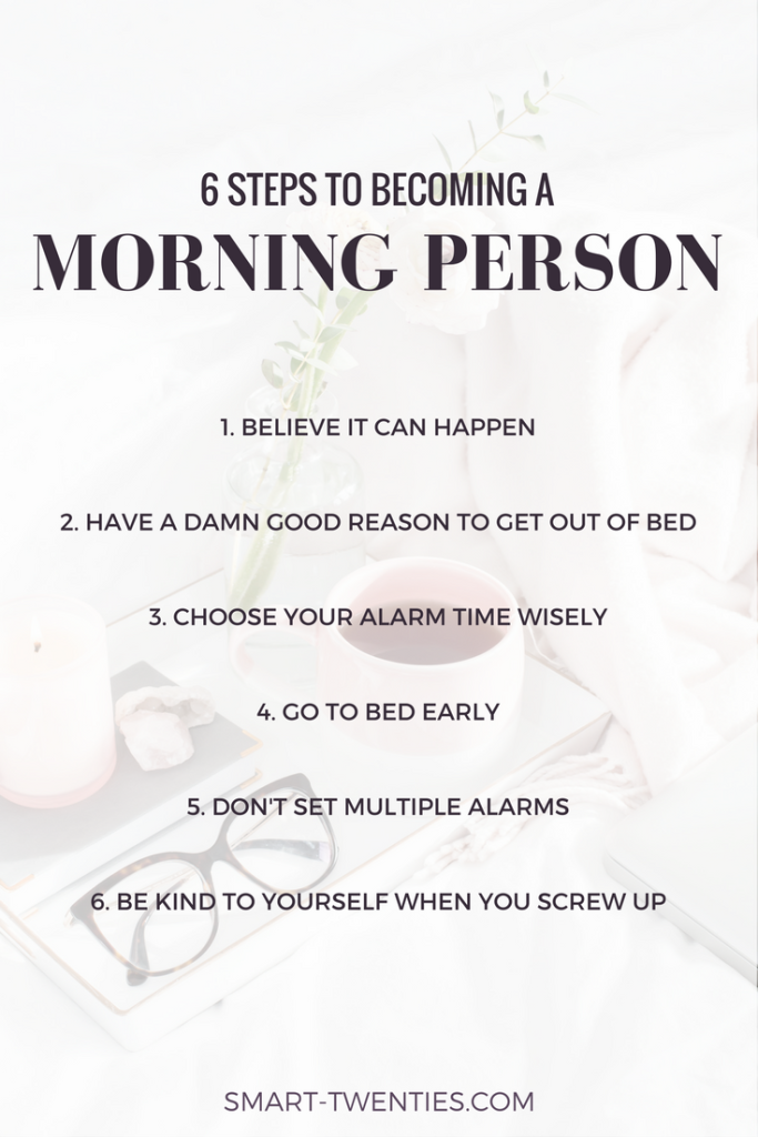 Want to wake up early but can't stay motivated? Find out how to become a morning person so you can wake up early and stick to a morning routine