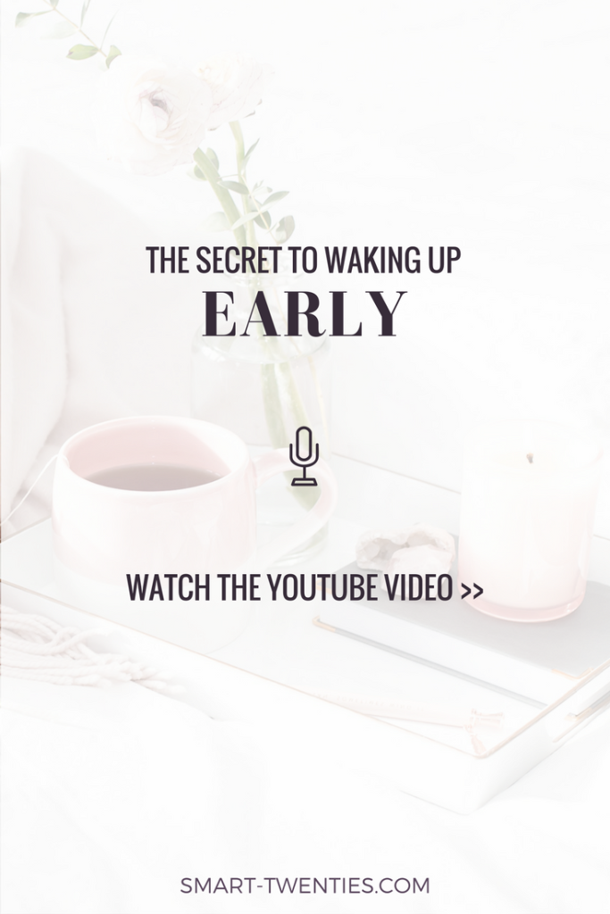 Want wake up early but can't stay motivated? Watch this video to find out how I stay motivated to wake up early and stick to a morning routine
