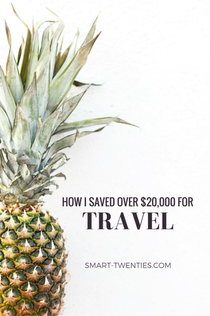 Find out exactly how to save money for travel as a student. I share the 5 tricks I used to save over $20,000 for travel while I was studying full-time.