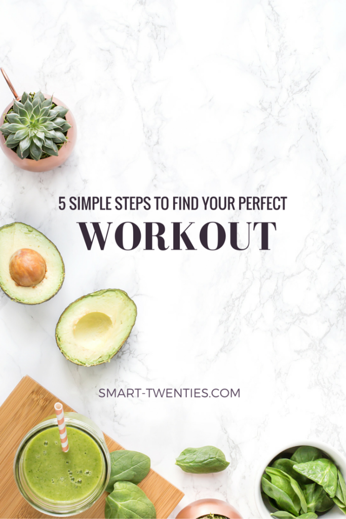 Keep giving up on your workouts? Try these 5 simple steps to find a workout you will stick to so you can finally achieve your fitness goals.