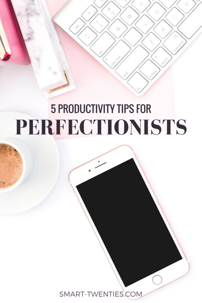 Want to stop procrastinating? Do more in less time? Read these 5 productivity tips for perfectionists and take the free perfectionism challenge!