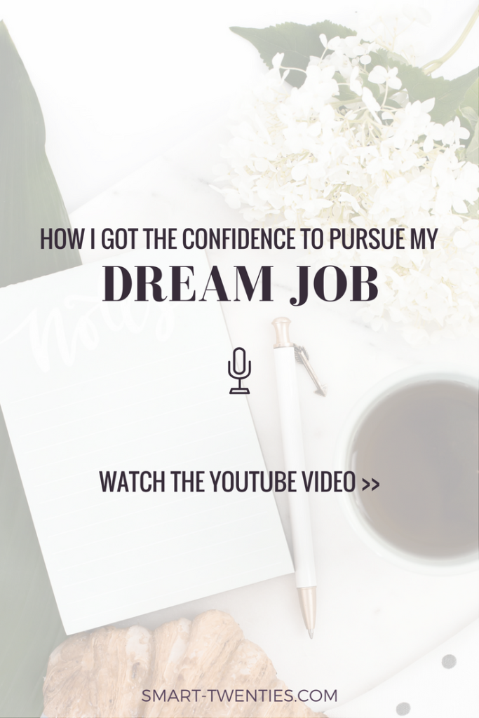 I share how I overcame self-doubt, stopped procrastinating on my dream and got the confidence to quit my full-time job for my dream job. Must-read if you're thinking of changing careers!