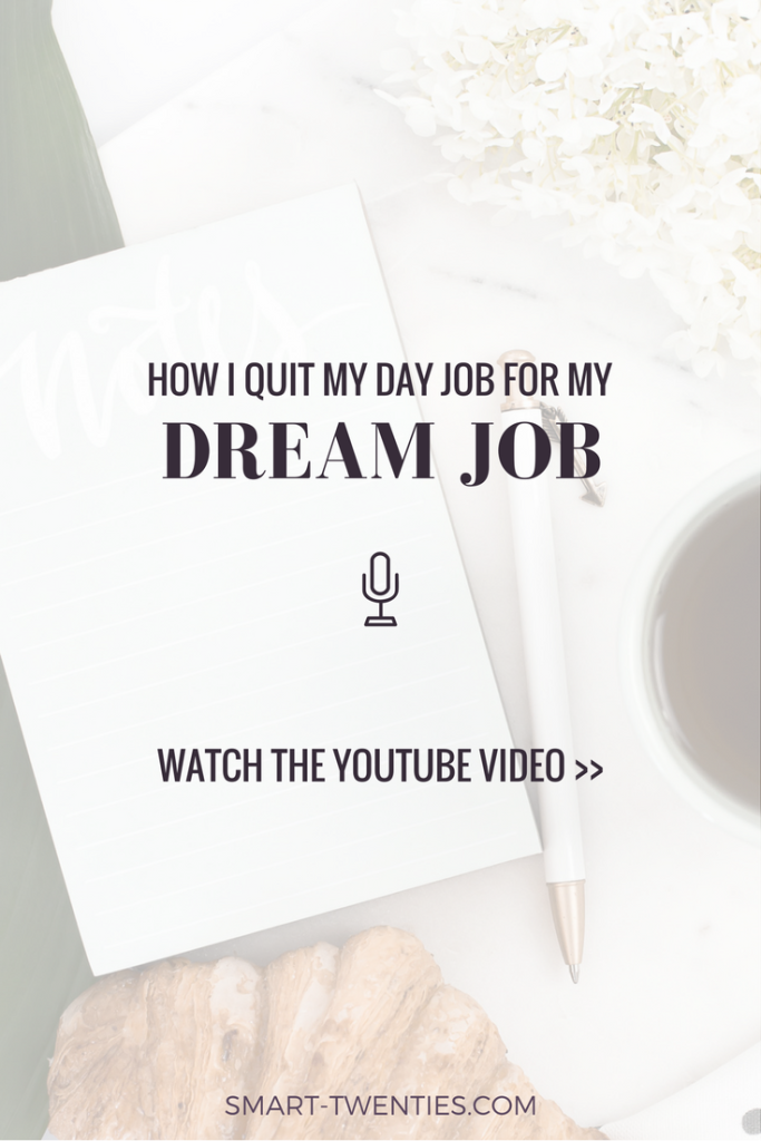 Find out how I changed careers and quit my full-time job before I felt ready. I share how I got the confidence to do it and how I made my big decision.