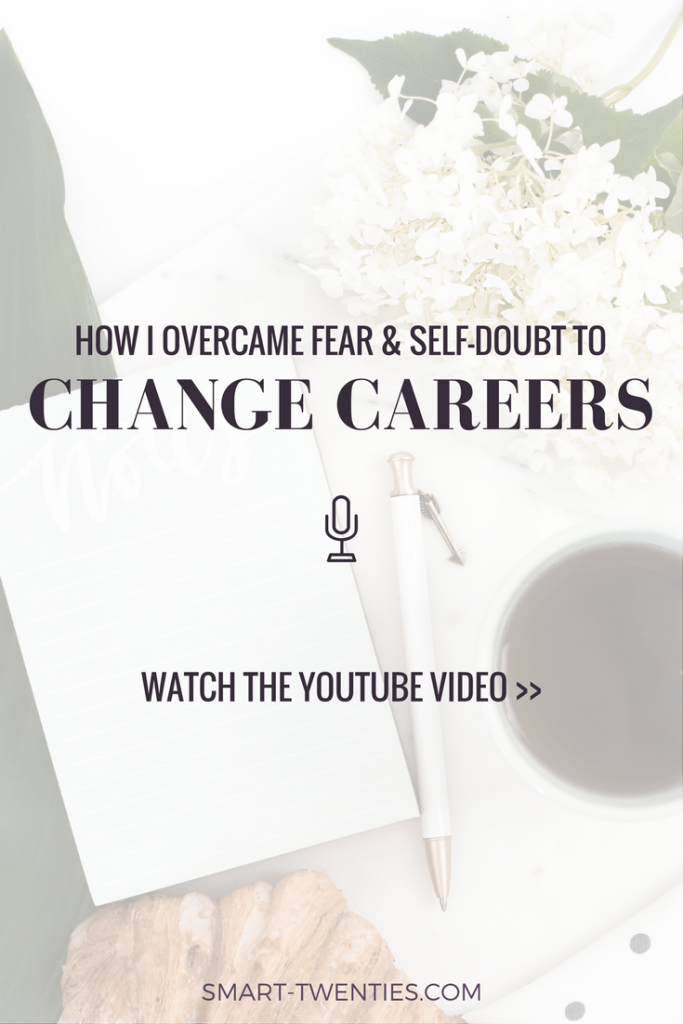 Thinking of making a career change but don't feel ready? Find out how I took a leap of faith and quit my full-time job before I felt ready!