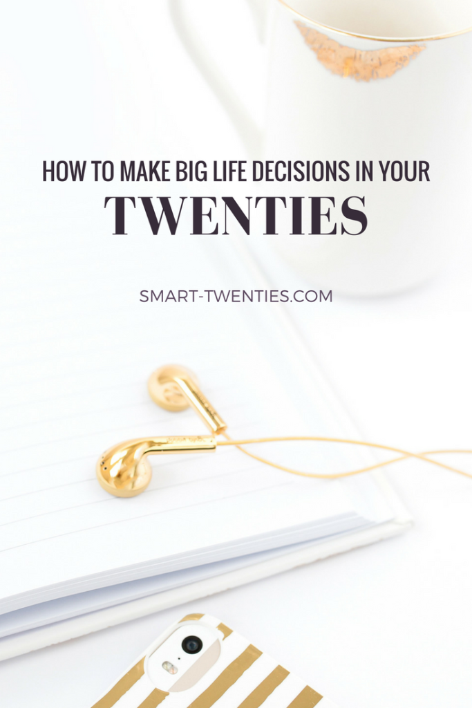 I share my tried and tested 6-step process for making big life decisions in your twenties as well as a free worksheet to help you do it! This is a must-read for all twentysomethings and millennials struggling to decide what to do with their lives or what to do next.