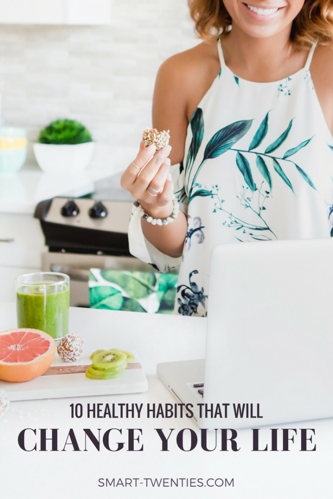 Here are 10 healthy habits that will have you feeling productive, motivated and organised! A must-read for college students and millennials