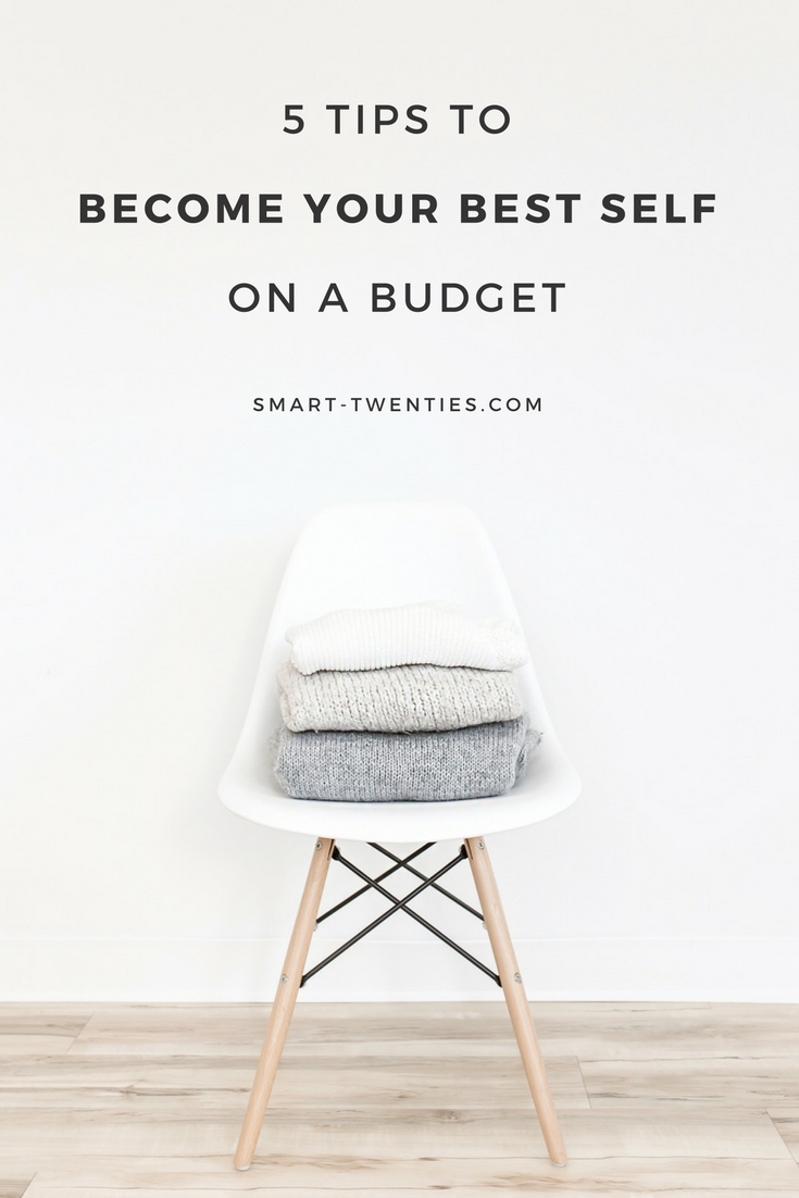 Want to become your best self but don't have money to spend on a coach? Here's how to become your best self on a budget!