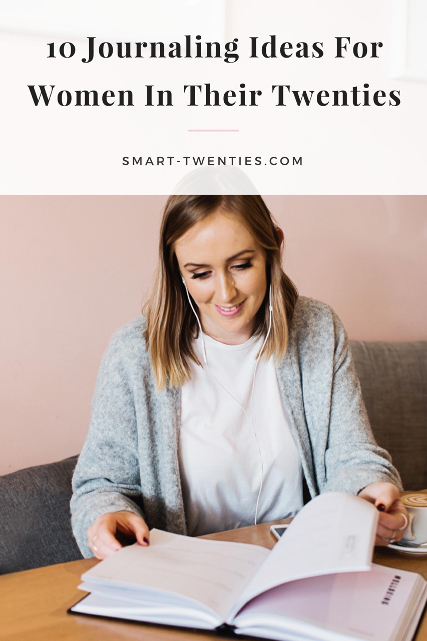 Here are the best journaling ideas for women in their twenties, perfect if you want to start a journal or bullet journal.