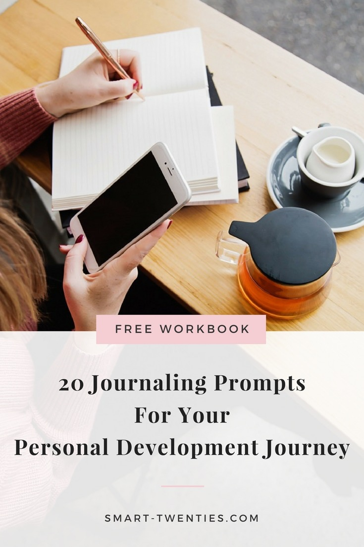 Journaling prompts to help you kickstart your personal development journey