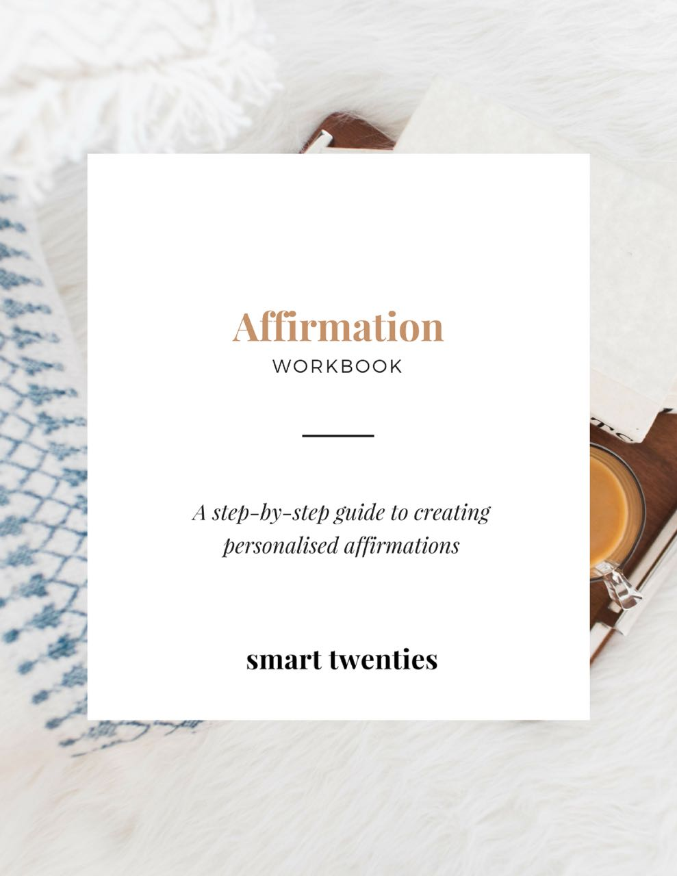 A workbook to help you create your own affirmations and use the law of attraction to achieve your goals