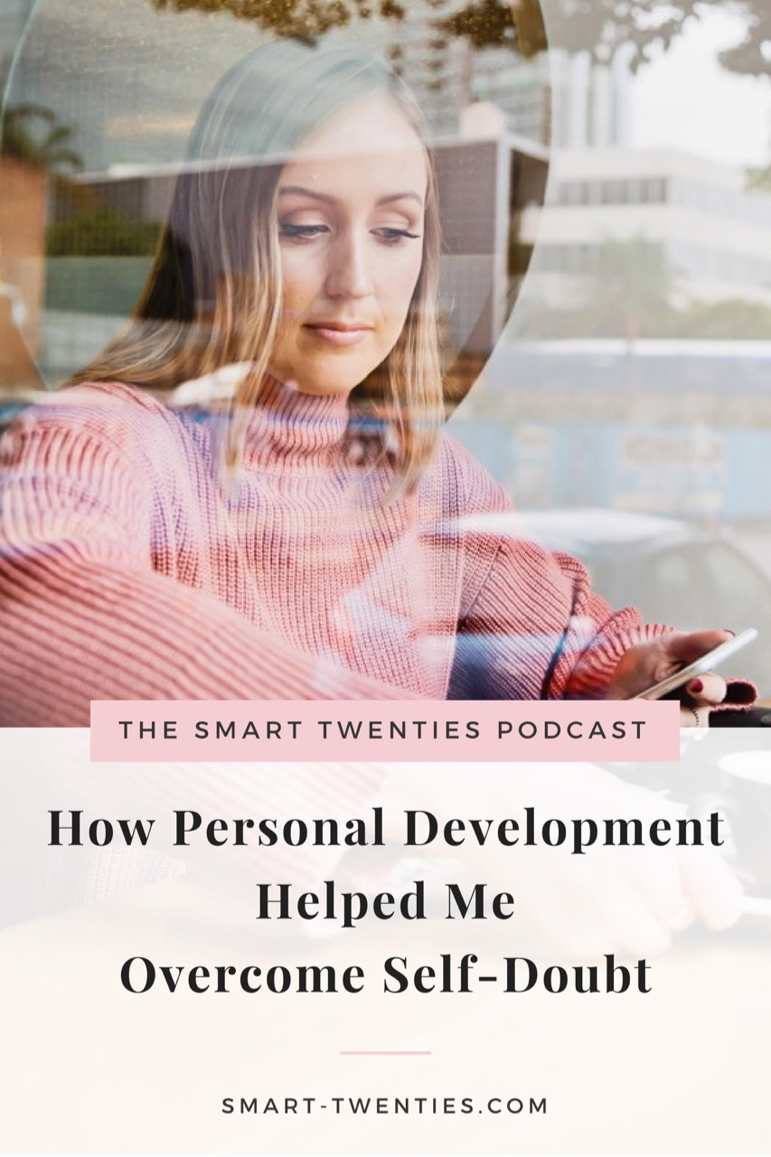 Struggling with self-doubt? Listen to this podcast episode to hear about how this blogger overcame it.