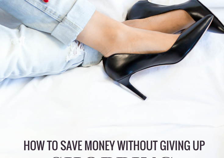 I share exactly how I save money without giving up shopping (which means you don't have to give up Sephora)