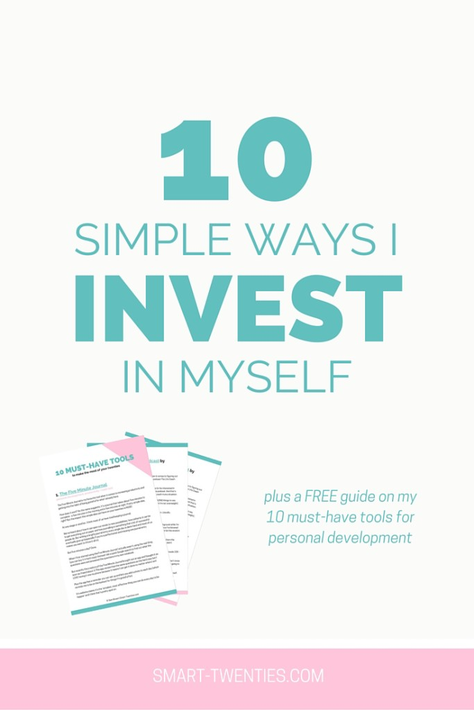 10 Simple Way I Invest In Myself