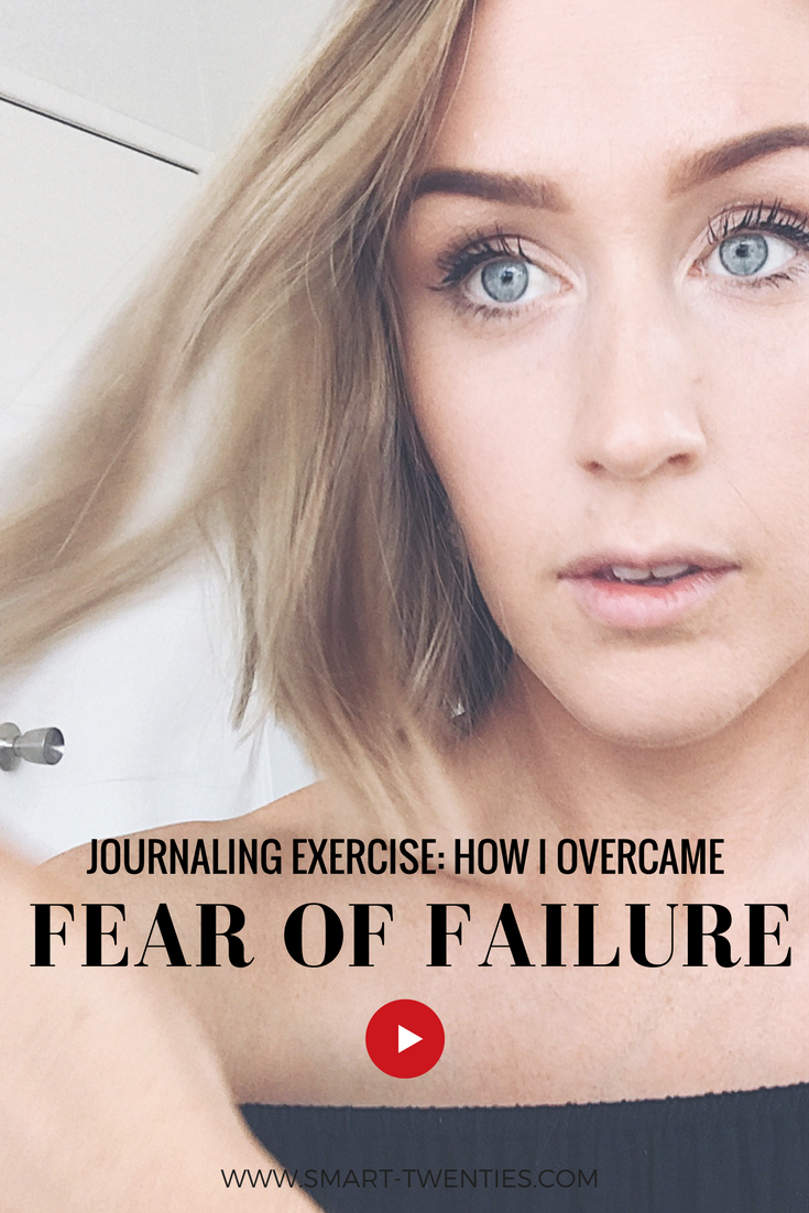 A journaling exercise to overcome fear of failure from Tim Ferriss' book Tools of Titans. A must-watch video for millennials and twenty somethings who are scared to make a big life decision.