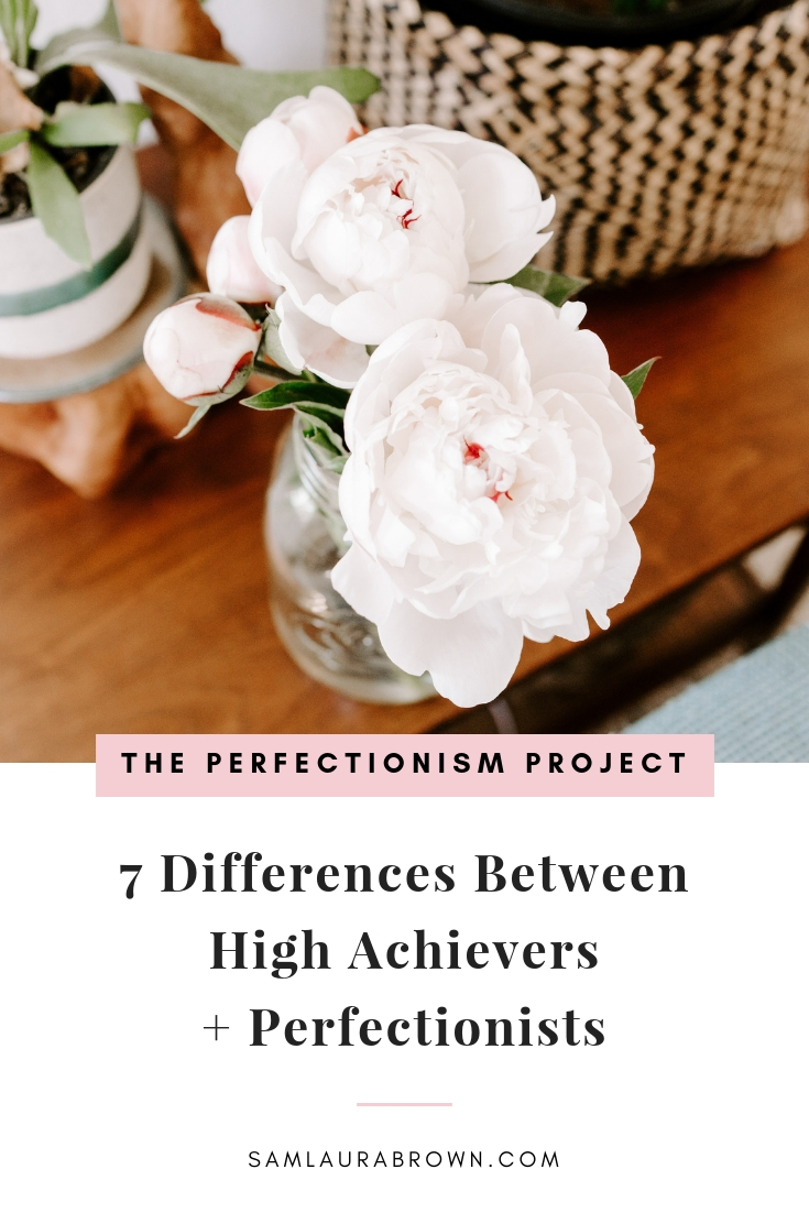 A huge misconception about perfectionism is that it's necessary for success. It's totally untrue and in this episode I'm sharing 7 differences between high achievers and perfectionists so you'll feel willing to let go of perfectionism for good.
