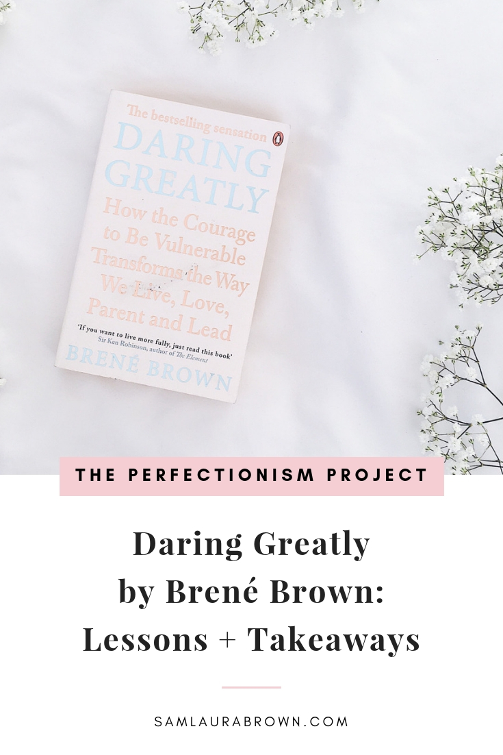 In this episode I'm sharing what I've learned about perfectionism, vulnerability and shame from her AMAZING book Daring Greatly. I hope this inspires you to pick up a copy!