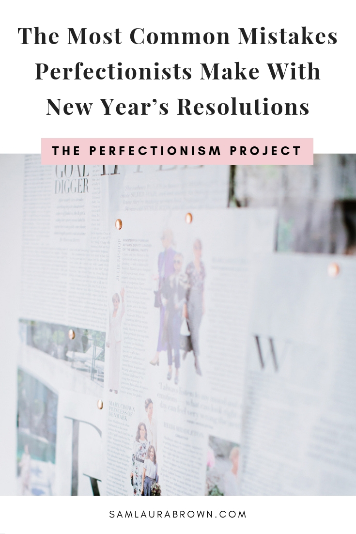 In this episode, I'm sharing the 5 most common mistakes perfectionists make with new year's resolution (or goals) and how to fix them!