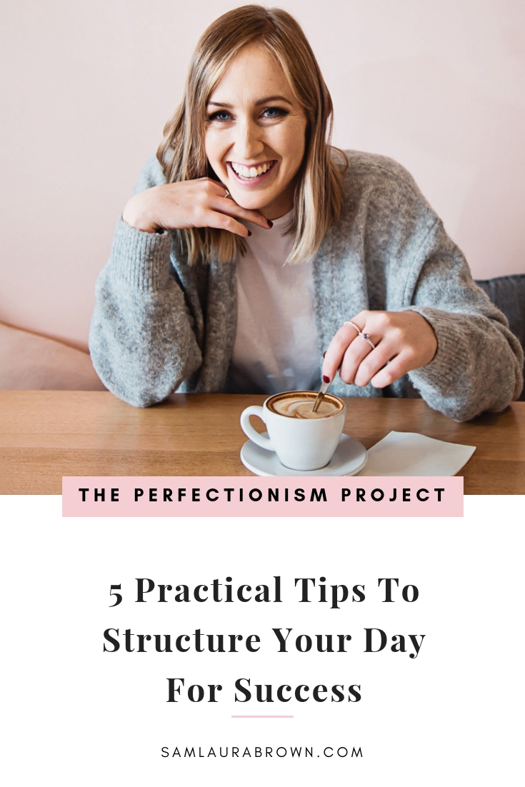 Tune in to hear how I currently structure my work day and how it's helping me to get more done in less time (with less stress).