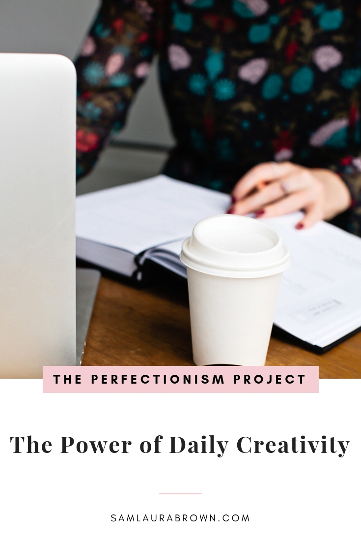 If you've been hesitating on a creative pursuit because you won't be good or it might not be successful, this episode is for you! Tune in learn the hidden reasons that daily creativity is SO powerful and how to get started.