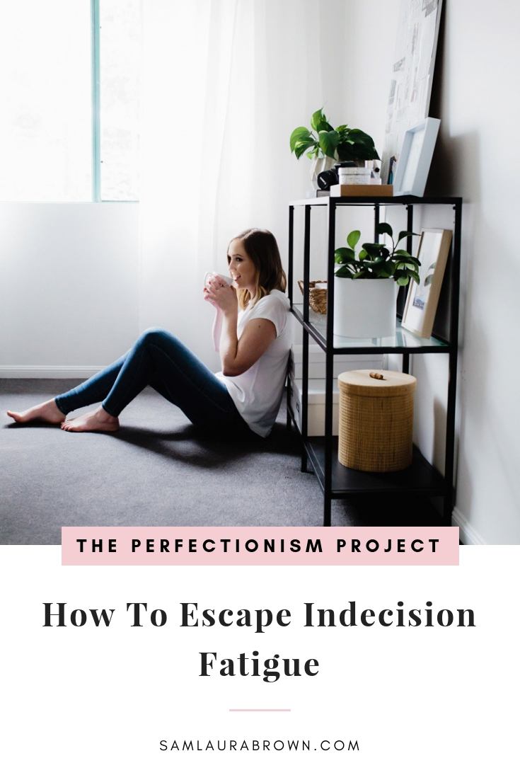 So many of us avoid making decisions because we're scared of making the 'wrong' one, not realising how much indecision is exhausting us. Tune in to learn what indecision fatigue is and how to escape it.