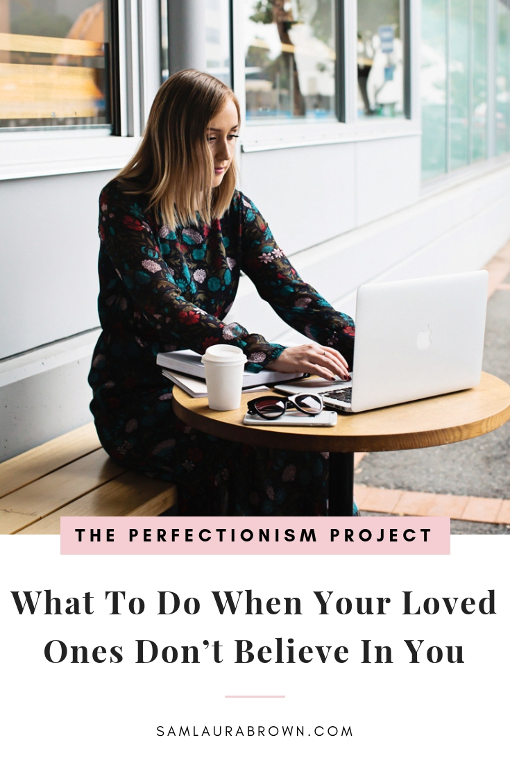 Do you wish your loved ones believed in your goals and gave you more support? If so, this episode is for you! I'm sharing what to do when others share their doubts and how to keep going anyway.