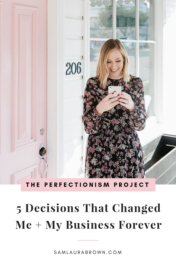 """In your moments of decision, your destiny is shaped"" - that's what Tony Robbins says and I couldn't agree more. In this episode, I'm sharing 5 decisions that changed me and my business forever. I hope this helps you with the decisions you need to make!"