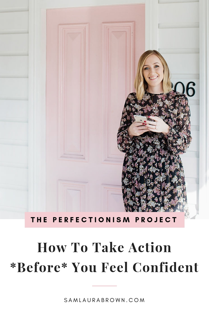 Once you begin to get a grip on how your brain works, it's tempting to turn personal growth into an intellectual pursuit. But then you're kinda missing the point! Tune in to learn how to take action *before* you feel ready and why it's necessary.