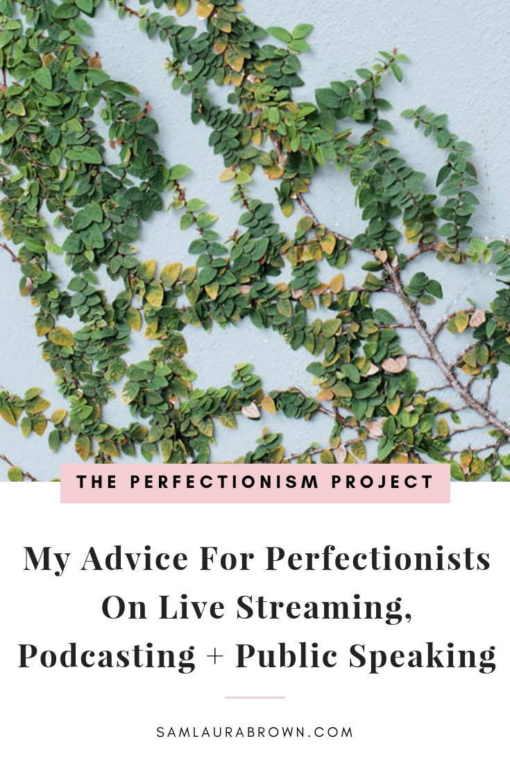 Has perfectionism stopped you from going live, getting on video, podcasting or speaking in front of a crowd? You're not alone! Tune in to learn what to do.