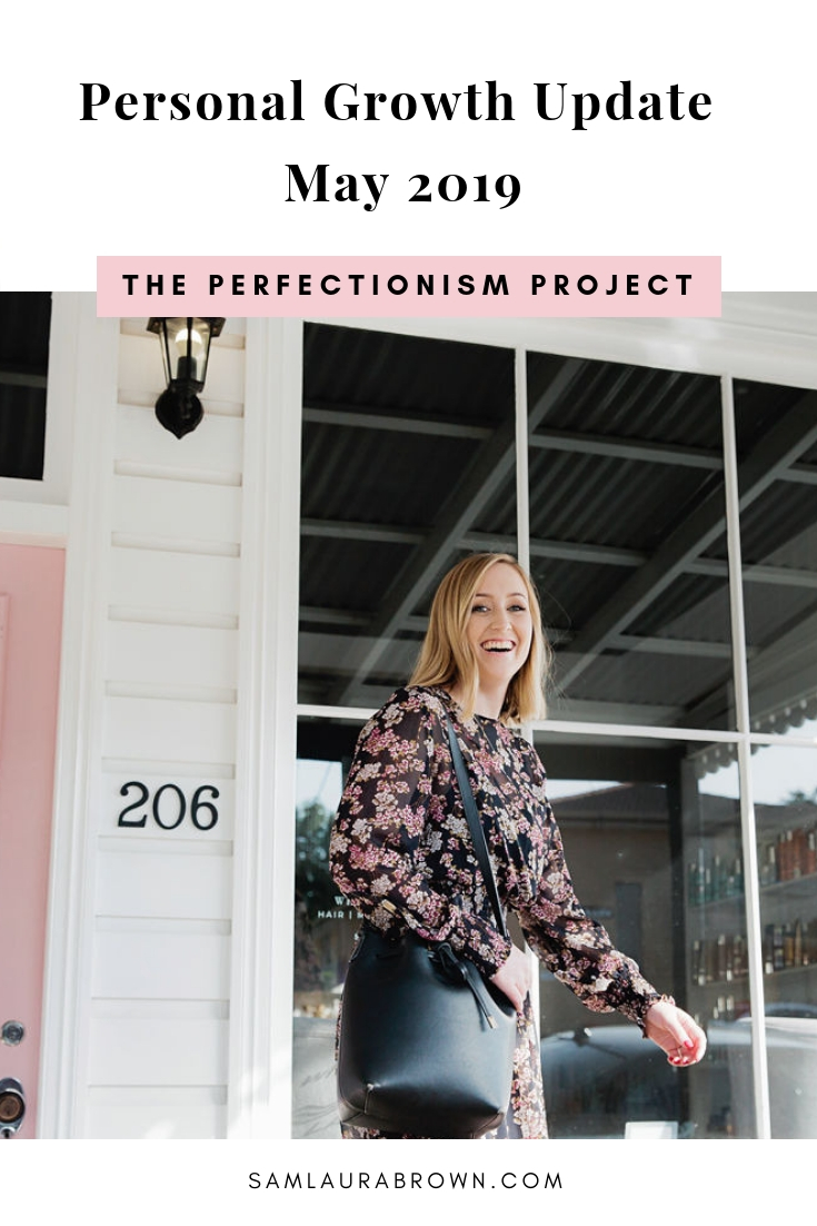 This month I launched Perfectionists Getting Shit Done, spent a week in Cairns for Tony Robbins' Date With Destiny, spoke to 130 girls at a local school and more.