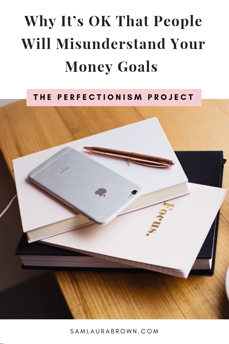 Are you scared to set big money goals for yourself? Are you worried that people will think you're greedy or materialistic? If so, this one's for you! I'm sharing why people will misunderstand your money goals and why that's ok.