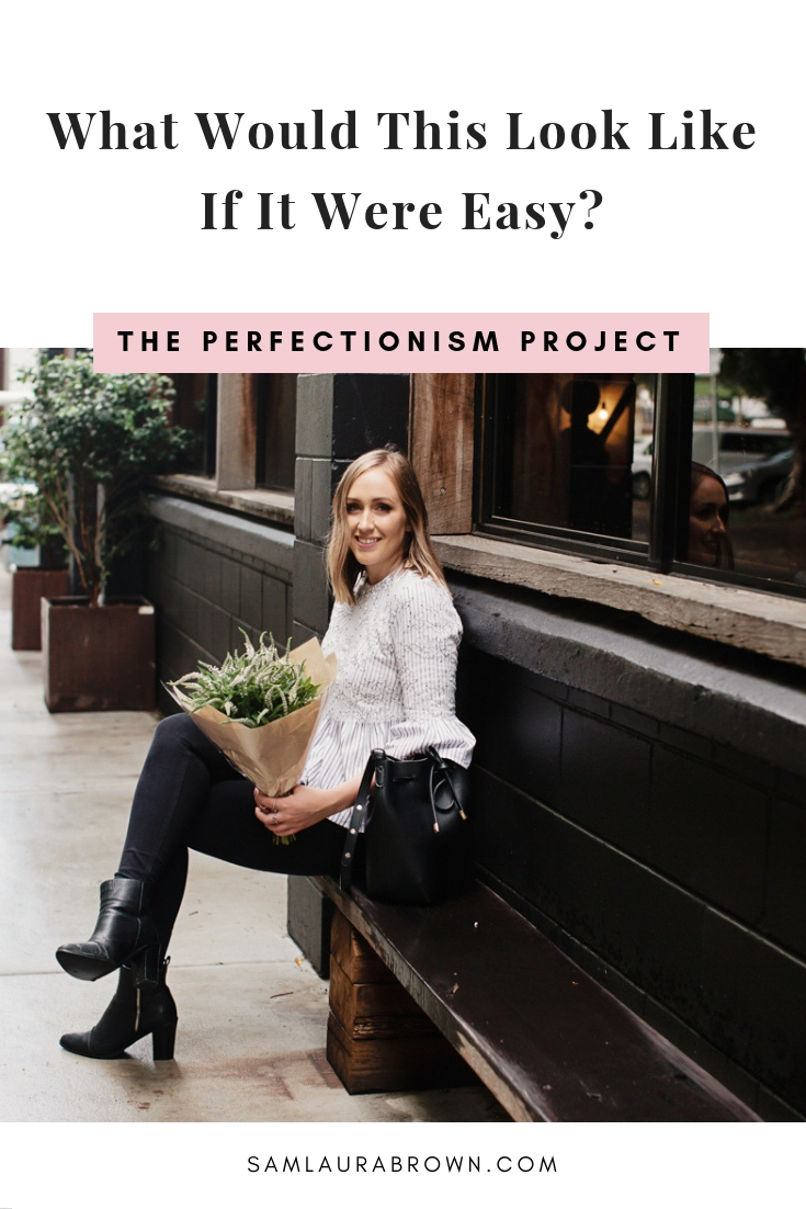 Perfectionists LOVE overcomplicating things - it gives us an excuse not to take action and makes us feel deserving of success. But this habit isn't serving you so in this episode, I share an empowering question that will get you out of your own way.