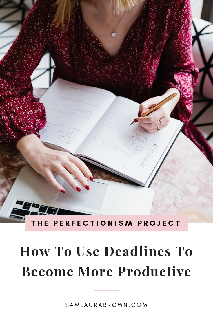 Perfectionists work well under pressure - at least, that's what they tell themselves! In this episode, I'm sharing how to use deadlines to become more productive and why that's not the same as leaving everything until the last minute. I hope you enjoy it!
