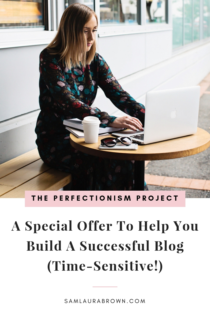 Want to build a successful blog but you're not sure if you have what it takes? This episode is for you! Find out about the special offer that'll help you create the success you deserve. To buy Perfect Blogger, visit samlaurabrown.com/perfectblogger.