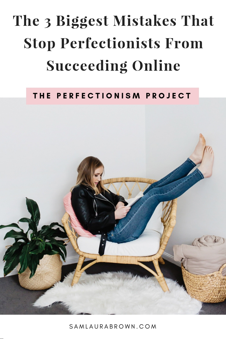 If you want to be a successful blogger, podcaster, YouTuber or creator of any kind - this episode is for you! I'm sharing the 3 biggest mistakes that stop perfectionists from succeeding online and how to avoid them.