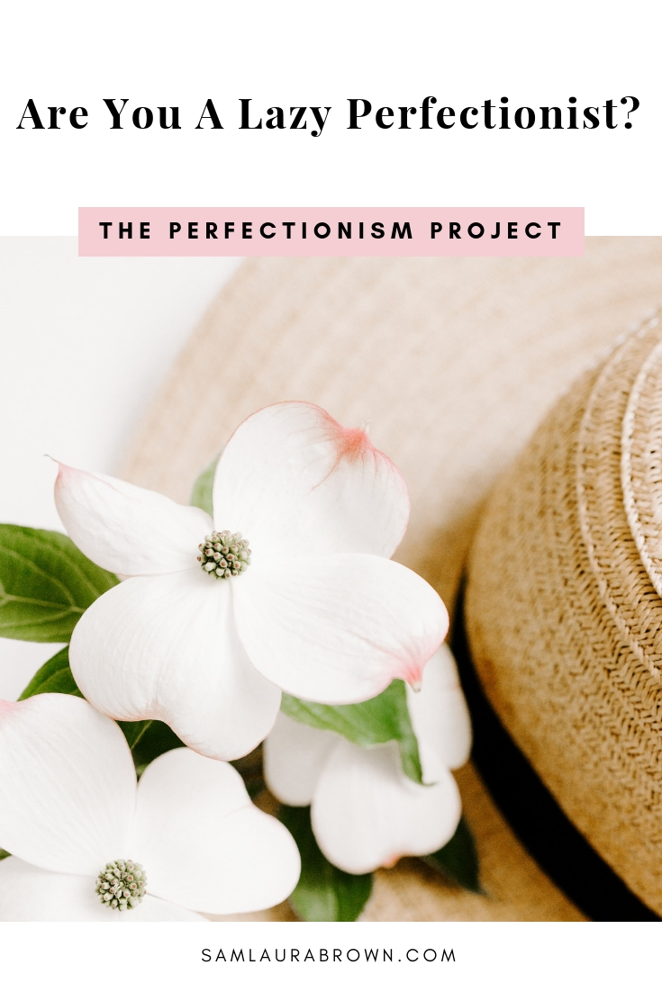 I often get asked whether it's possible to be a lazy perfectionist. And if so, how to tell whether you are one. So that's the question I'm answering in this episode!