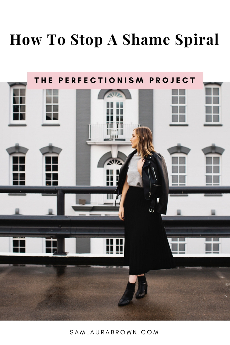 In this episode, I'm sharing a practical 3 step process that'll help you stop a shame spiral. If you're a perfectionist, this episode is a must-listen!