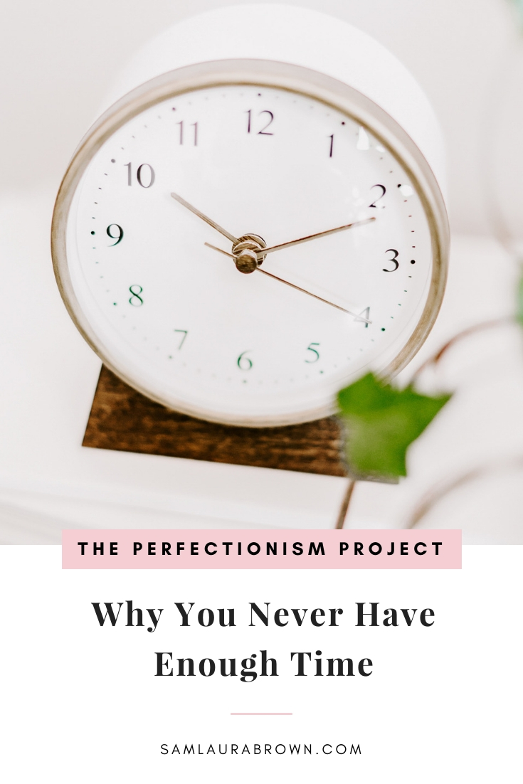 Are you constantly running out of time to do the things you really want to do? This episode is for you! I'm sharing 7 reasons why you never have enough time and what to do about it.