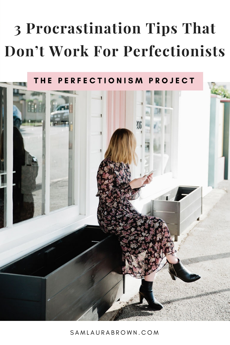 Struggling to beat procrastination? This episode is for you! I'm sharing 3 common procrastination tips that don't work for perfectionists and what to do instead.