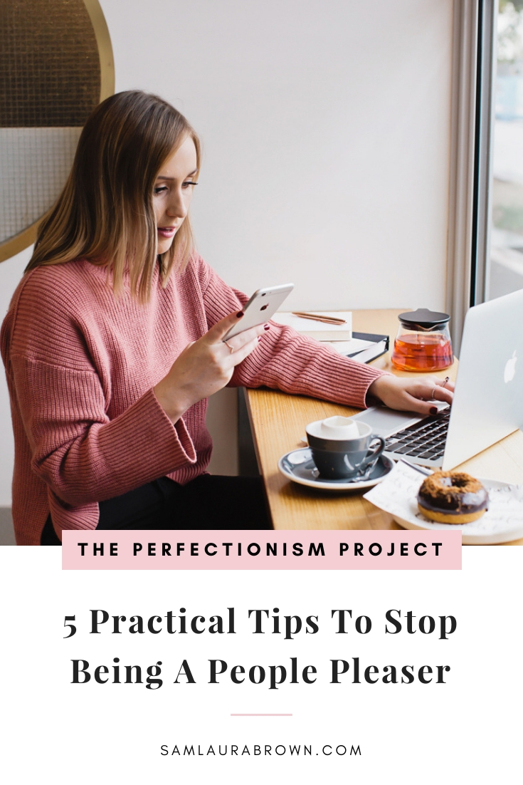 """Perfectionists have what Oprah likes to call """"the disease to please"""". In this episode, I'm sharing 5 practical ways you can use to stop people pleasing and a few important reminders for the journey ahead."""