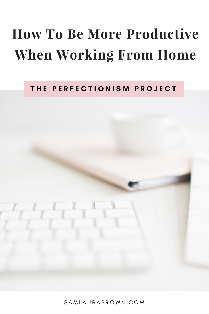 Whether you're working from home on your business, for your boss or for your studies - this episode will teach you 5 ways to be more productive from home!