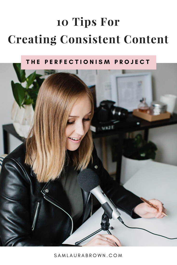 If you struggle to create content consistently - whether it's for a blog, podcast, YouTube channel, Instagram account or something else - this episode is for you. I'm sharing 10 tips to help you overcome perfectionism and show up consistently online.