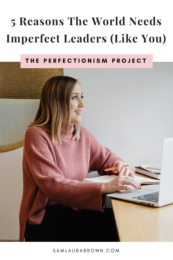 Ever feel like you're not 'perfect' enough to help others? This episode is for you! I'm sharing why the world NEEDS imperfect leaders like you, especially at a time like this.