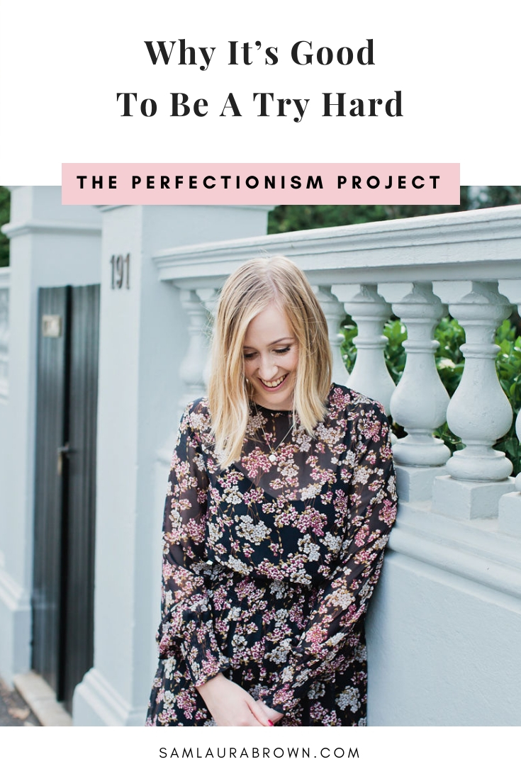 Being called a try hard is a perfectionist's worst nightmare. But in this episode, I'm sharing why you should be a try hard and the best way to do it.