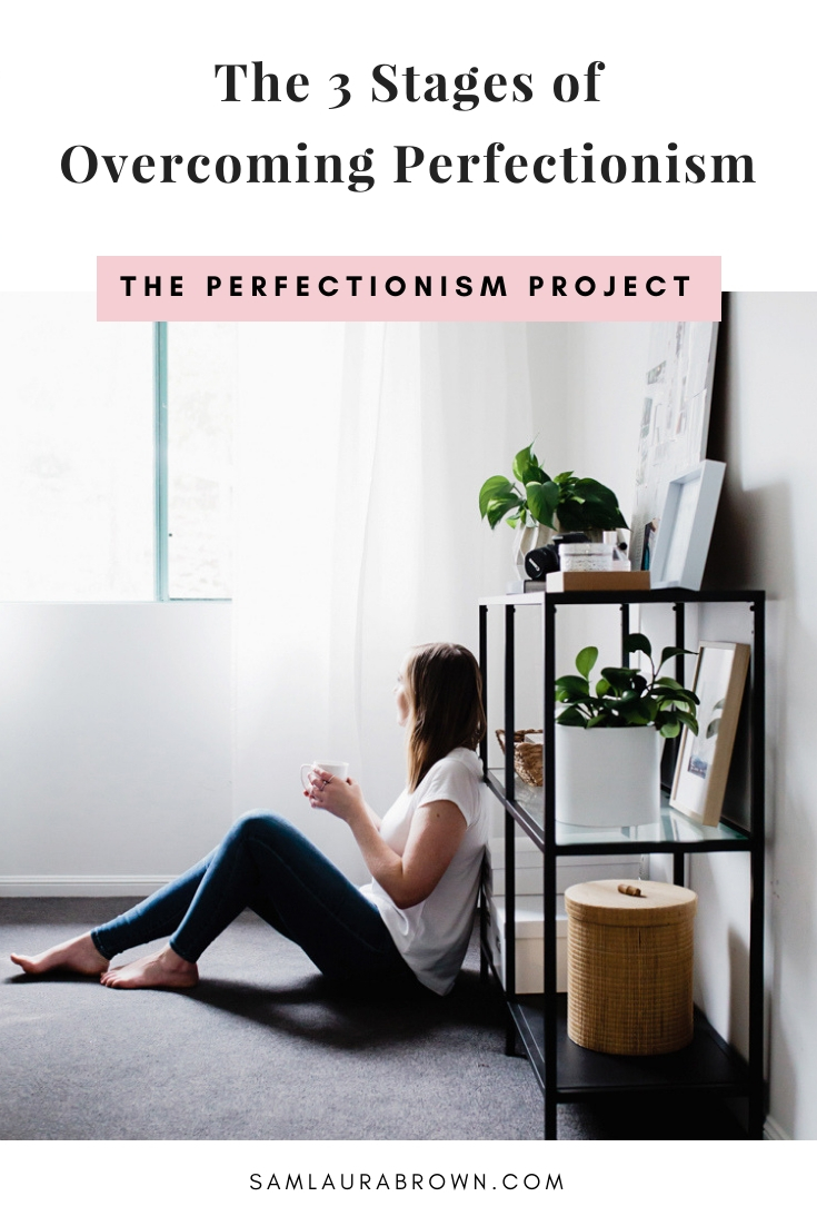 Overcoming perfectionism is a journey, so in this episode I'm breaking down the 3 stages of overcoming perfectionism to help you identify where you are right now and what you have to do next.