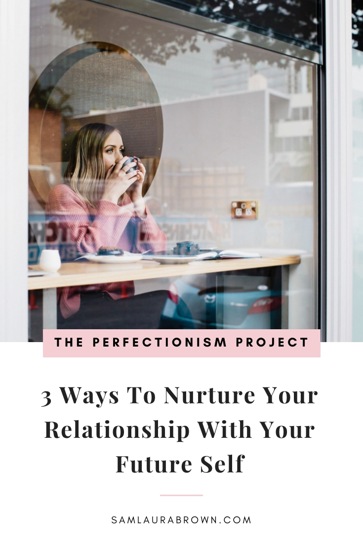 Your future self has so much wisdom to share with you. In this episode, I'm sharing 3 ways to nurture your relationship with your future self and how to access her wisdom to unstuck yourself.