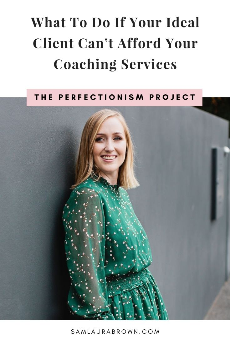 Are you stuck because your ideal client can't afford your coaching services? In this episode I'm sharing how to help as many people as possible without sacrificing your financial goals.
